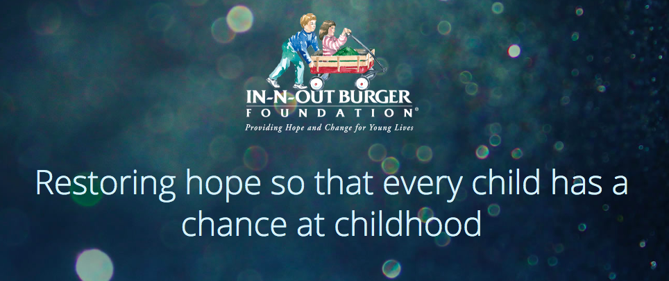 Walker Foods Cares about the In-N-Out Charity Foundation – Walker Foods